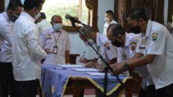 Bupati Melantik 12 Pejabat Pimpinan Tinggi Pratama.