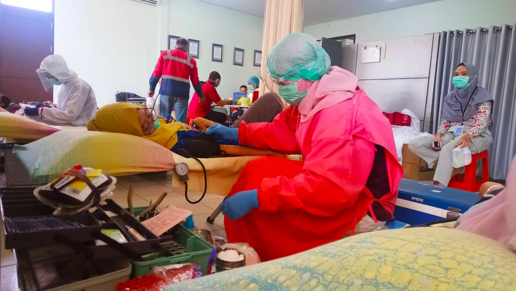 PMI Batang Menjaga Stock Darah Aman, Di tengah PPKM Darurat Dok. (PMI Batang)