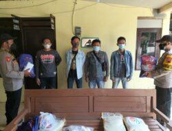 Puluhan Pekerja Seni di Blado Dapat Bantuan Sosial