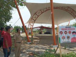 Pembangunan Baru 15 persen, Bazar Bisnis Center Batang Akan Dilengkapi Panggung Musik Dan Seni