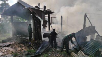 Si Jago Merah Hanguskan Pabrik Penyulingan Daun Cengkeh di Wonodadi