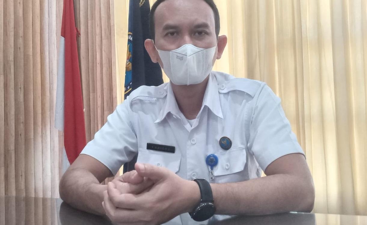 Kepala BNNK Batang Khrisna Anggara, saat ditemui di ruang kerjanya, Kamis (26/8/2021).