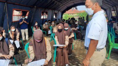 Pelajar SMP Di Batang Mulai Divaksin Covid-19, Pemkab Targetkan 24 Ribu Sasaran