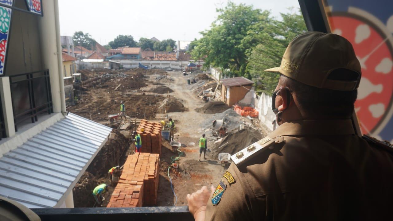 Pembangunan Pasar Sugihwaras